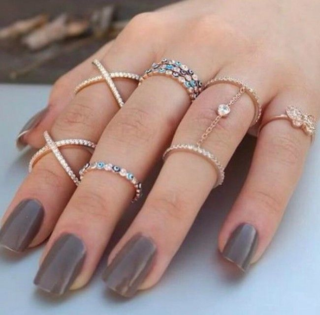 Evening Dress Rings